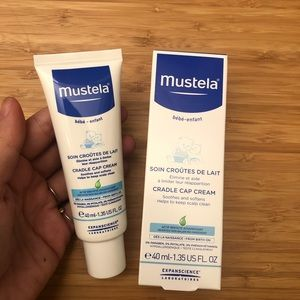 Mustela Cradle Cap Creme 40ml - SET OF TWO NEW
